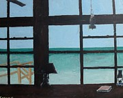 Emerald Coast Originals - The View from Blue House II by John Terry