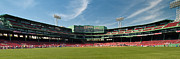 Boston Red Sox Framed Prints - The View From Center Framed Print by Paul Mangold