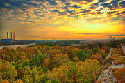 Saint Charles Digital Art - The View From Klondike Overlook by Bill Tiepelman