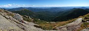 Adirondack Lakes Posters - The View South from Mt. Marcy Poster by Joshua House