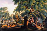 The Village Blacksmith Print by Granger