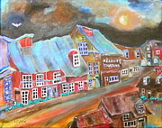 Michael Litvack Art - The Village by Michael Litvack
