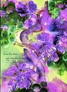 Purple Grapes Prints - The Vine Print by Anne Duke