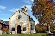 Shrine Photo Originals - The Virgin Mary church in Austria  by Elzbieta Fazel