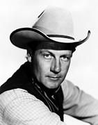 1946 Movies Metal Prints - The Virginian, Joel Mccrea, 1946 Metal Print by Everett