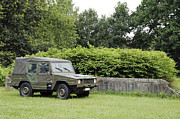Component Photo Posters - The Vw Iltis Jeep Used By The Belgian Poster by Luc De Jaeger