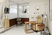 Colour Image Photos - The Waiting Room For Patients by Christian Scully
