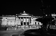 National Building Museum Photos - The Walker Art Gallery And Steble Fountain William Brown Street Conservation Area Liverpool by Joe Fox