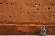 Morocco Metal Prints - The Wall Metal Print by Marion Galt