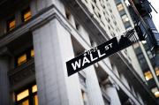 Stock Exchange Photos - The Wall Street Street Sign by Justin Guariglia