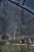 Vietnam Veterans Memorial Photos - The Wall that Heals by Tommy Anderson