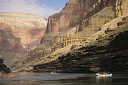 Grand Canyon Scenes Prints - The Walls Of The Grand Canyon Dwarf Print by David Edwards