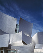 2000s Photo Prints - The Walt Disney Concert Hall, By Frank Print by Everett