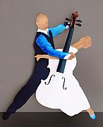 Violin Sculptures - The Waltz by Steve Karol