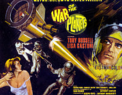 Lobbycard Framed Prints - The War Of The Planets, Aka I Diafanodi Framed Print by Everett