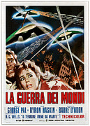 Release Prints - The War Of The Worlds Aka La Guerra Dei Print by Everett