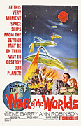 1960s Poster Art Posters - The War Of The Worlds, Bottom From Left Poster by Everett