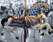 Painted Ponies Art - The Warrior Steed by Colleen Kammerer