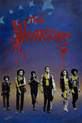 Spraypaint Art Prints - The Warriors Print by Iosua Tai Taeoalii