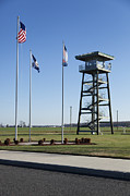 Watch Tower Framed Prints - The Watch Tower Of A Correctional Framed Print by Roberto Westbrook