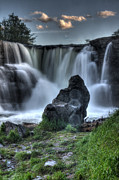 Alberta Water Falls Prints - The Watchman Print by Bob Christopher