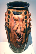 Pottery Ceramics Originals - The Water Bearer - Aquarian by Dan Earle