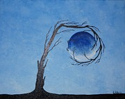 Element Painting Originals - The Water Element by Edwin Alverio