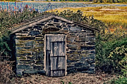 Fall Photographs Posters - The Water Shed Poster by Tom Prendergast