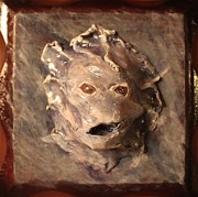 Fantasy Reliefs Originals - The Water Speaks To Us by Megan Nelson