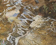 On Paper Paintings - The Water Sprite by JBL Shaw