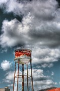 The Water Tower Print by Dan Stone