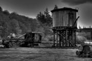 Logging Camp Prints - The Water Tower Print by David Patterson