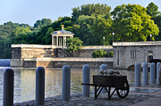 Art Museum Prints - The Waterworks Wheelbarrow - Philadelphia Print by Bill Cannon