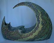 Coast Ceramics Originals - The Wave by Theodora Kurkchiev