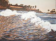 Kerala Paintings - The Wave by Usha Shantharam