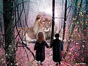 Lions Digital Art Posters - The Way Poster by Bill Stephens