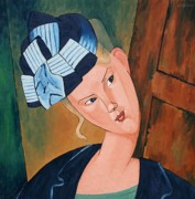 Modigliani Originals - The Wedding Guest by Stephen Diggin
