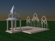 3d Modeling - The Wedding Place WIP by Peter Piatt