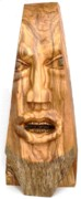Olive Wood Sculpture - The Wedge by Eric Kempson