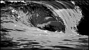 Big Wave Posters - The Wedge Newport Beach Poster by Brad Scott