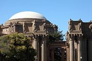 Palace Of Fine Arts Prints - The Weeping Maidens of The San Francisco Palace of Fine Arts - 5D18305 Print by Wingsdomain Art and Photography