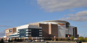 Basketball Sports Digital Art - The Wells Fargo Center - Philadelphia  by Bill Cannon