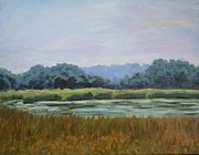 Dundas Paintings - The West Pond by Fred Urron
