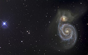 The Whirlpool Galaxy Print by R Jay GaBany