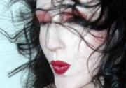Alluring Photos - The Whisper Kiss - Self Portrait by Jaeda DeWalt
