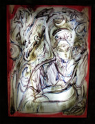 Energy Pyrography - The Whisperer by Dean Cercone