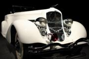 The White Duesenberg Print by Wingsdomain Art and Photography