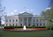Travel North America Prints - The White House In Washington, Dc Print by Richard Nowitz