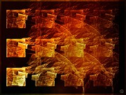 Fractal Art - The whole block is on fire by Gun Legler