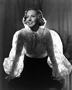 See-through Clothes Prints - The Whole Towns Talking, Jean Arthur Print by Everett